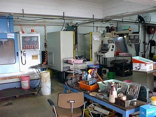 成立CNC加工中心